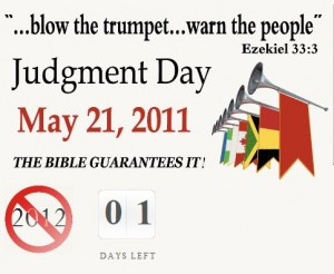 Judgment Day May 21?