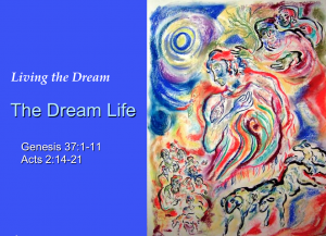 Sermon - The Dream Life-Joseph - audio sermon