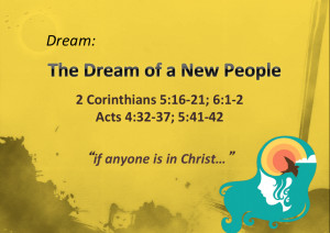 Dream Big - The Dream of a New People
