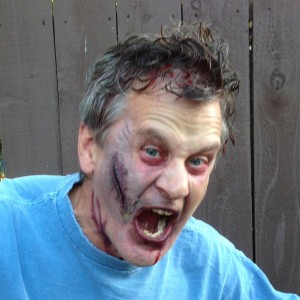 Dave before the stent - Halloween 2013